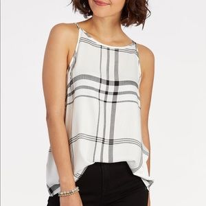 Evereve Renee C Plaid Tank
